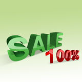 100% Sale Stock Photos