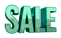 Sale 3D text Arkivbilder