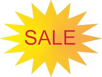 Sale Design element. Template icon Stock Images