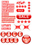 Sale design elements Stock Image