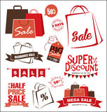 Sale design elements Stock Photo