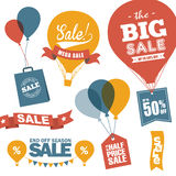 Sale design elements Stock Photography