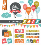 Sale design elements Royalty Free Stock Photo