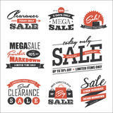 Sale design elements Stock Photos