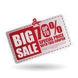 Sale design. offer icon.  illustration Stock Photography