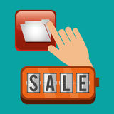 Sale  design. social media icon. ecommerce concept, vector illustration. Sale concept with icon design, vector illustration 10 eps graphic Stock Photos