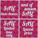 Sale design template. Final sale. Big Sale vector design template vector illustration