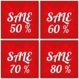 Sale design template. Final sale. Big Sale vector design template royalty free illustration