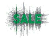 `Sale` design template grunge style. Stock Image