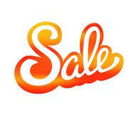 Sale Design Template Vector Background Stock Photo