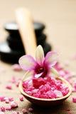 Sale di bagno del fiore immagini stock