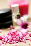 Sale di bagno del fiore immagini stock libere da diritti