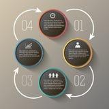 Sale di presentazione di PowerPoint steps12 Fotografia Stock