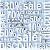 Sale and discount Stock Photo