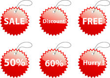 Sale discount Royalty Free Stock Photos
