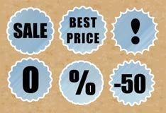 Sale discount Stock Image