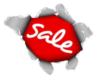 Sale discount advertisement Royalty Free Stock Photos