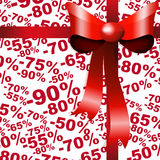 Sale discount background. Stock Image