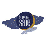 Sale and discount card, banner, flier. Black friday offer. Royalty Free Stock Image