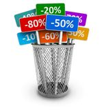 Sale and discount concept Royalty Free Stock Photography