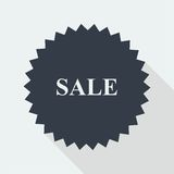 Sale discount flat design Royalty Free Stock Images