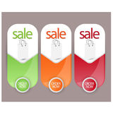 Sale,discount,offers banners,tags or labels Stock Photo