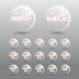 Sale Discount Percent Tag Royalty Free Stock Photo