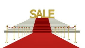 Sale discount Stock Image