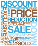 Sale discount poster Royalty Free Stock Photography