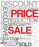 Sale discount poster Stock Photo