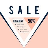 Sale discount vector template business banner stock photos