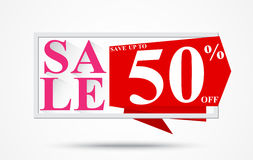 Sale and discounts for banner or poster. Illustration of Sale and discounts cut prices design for banner or poster Royalty Free Stock Image