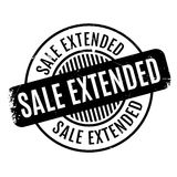 Sale Extended rubber stamp Stock Photography