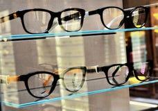 Sale of eyeglass frames Stock Photos