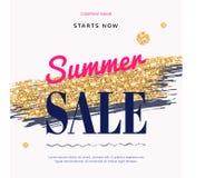 Sale Fashion modern web banner Royalty Free Stock Photography