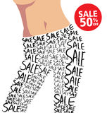 Sale and Fashion Stock Photo