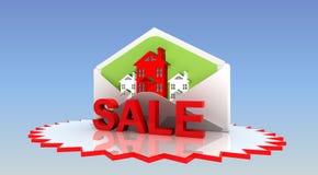 Sale fastighet Royaltyfria Bilder