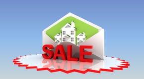 Sale fastighet Royaltyfria Foton