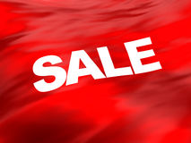 Sale flag background Stock Photography