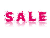 Sale! Floral style design. Royalty Free Stock Images