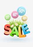 Sale flowers Stock Photo