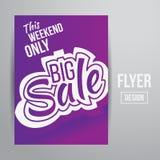Sale flyer Stock Photos