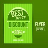 Sale flyer Stock Photo