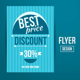 Sale flyer Stock Image