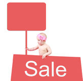Sale For Children Stock Photography