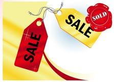 Sale_frame Imagens de Stock Royalty Free