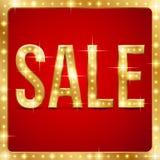 Sale in frame Stock Photo
