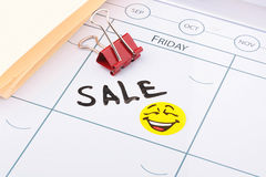 Sale on Friday Stock Photography