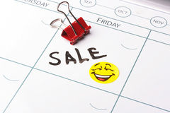 Sale on friday Royalty Free Stock Images