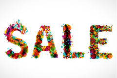 SALE - funky graphic design Stock Photography